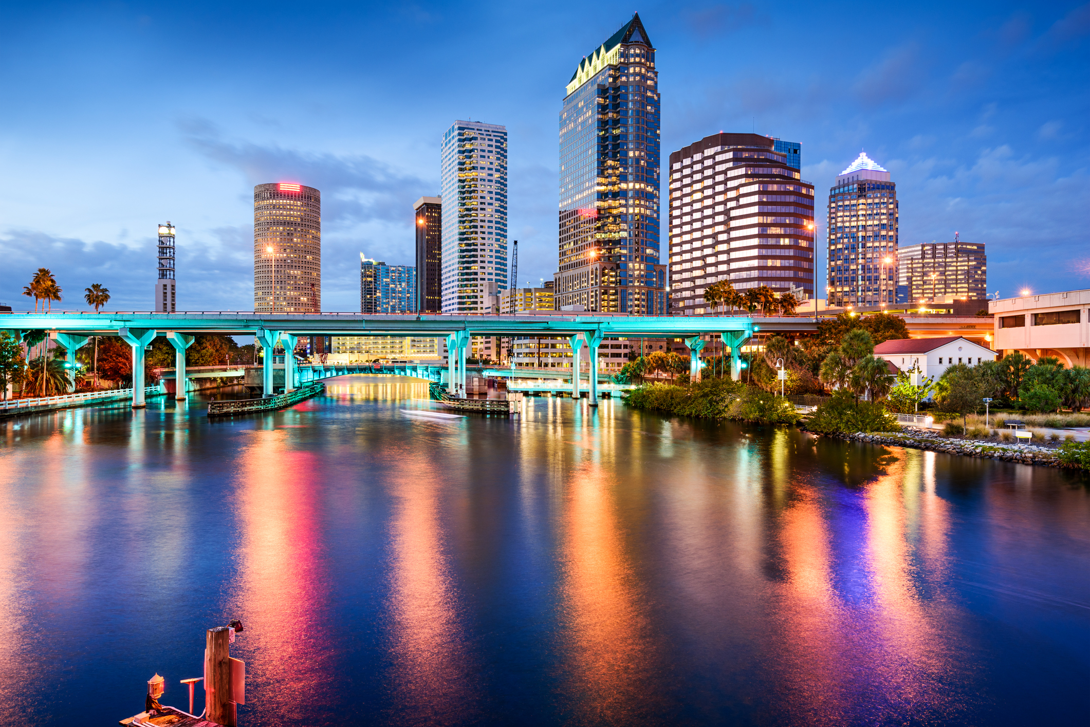 Tampa, Florida. Home to established and growing business.